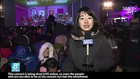 Girls\' Generation \'V Concert\' on SBS 8 NEWS