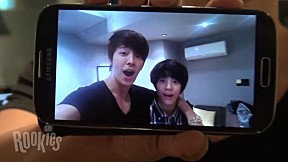 [SMROOKIES] JENO with Dong Hae Self Camera