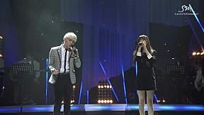 SM THE BALLAD Vol.2 Joint Recital - \'Breath\' by Tae Yeon & Jong Hyun