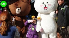 LINE FRIENDS in EVERLAND, Korea