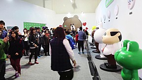 LINE FRIENDS in Taipei(互動樂園), Taiwan