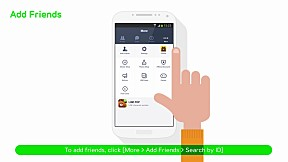 [LINE Tutorial Video] Adding friends with a LINE User ID (EN)