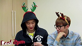 [Real 2PM] 2PM\'s Christmas Tree for HOTTEST