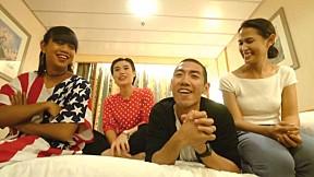 ป๋อมแป๋ม ก๊อตจิ กอล์ฟ เจนนี่ ชวนดูเทยแฟร์ฯ 2558 ที่ LINE TV