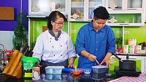 Modern9 Cooking by Yingsak - Bakery Lovers ตอนวิธีทำ Fish Pudding [3\/3]