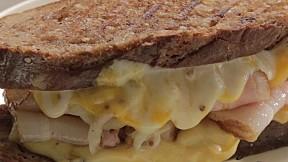 Roast Pork Cheese Sandwich
