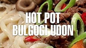 Hot Pot Bulgogi Udon