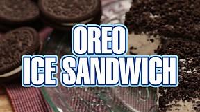Oreo Ice Sandwich