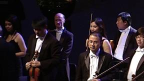 การแสดงบทเพลงพระราชนิพนธ์โดยวง Bangkok Pro Musica Orchestra, The Hague [3\/3]