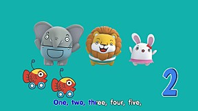 Zoovivor cartoon animation - One Two Three Four Five