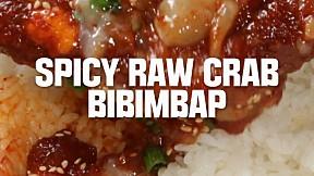 Spicy Raw Crab Bibimbap