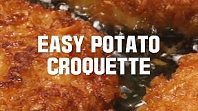 Easy Potato Croquette