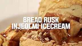 Bread Rusk Injeolmi Icecream