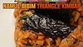Namul Bibim Triangle Kimbap