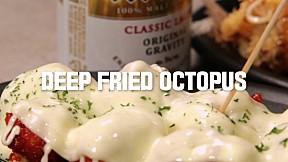 Deep Fried Octopus