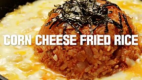 Corn Cheese Fried Rice