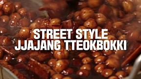 Street Style Jjajang Tteokbokki