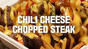 Chili Cheese Chopped Steak