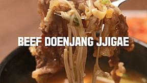 Beef Doenjang Jjigae
