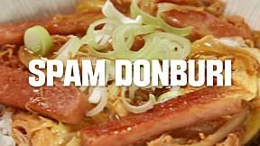 Quick & Easy Spam Donburi