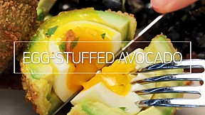 Egg-Stuffed Avocado