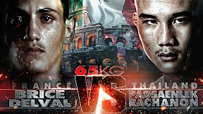 THAI FIGHT ITALY | คู่ที่ 4 BRICE VS PADSAENLEK