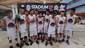 สัมภาษณ์นักกีฬาทีมกรุงเทพคริสเตียน และ ทีมโมโนทิว B Stadium29 5x5 Basketball