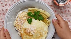 乳清芝士班㦸 Ricotta Cheese Pancakes