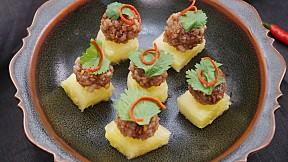 """วิธีทำ """"ม้าฮ่อ"""" เมนูอาหารว่างไทยโบราณ กินคู่ผลไม้รสเปรี้ยว"""