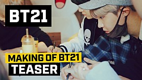 [BT21] Making of BT21 - Teaser