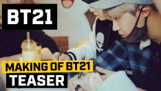 [BT21] Making of BT21 - Teaser