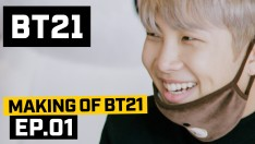 [BT21] Making of BT21 - EP.1