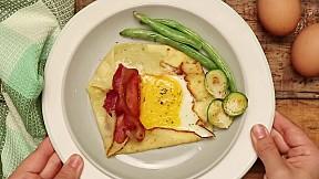 雞蛋可麗餅 Egg Crepe
