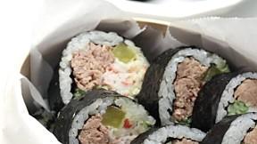 芥末蛋黃紫菜包飯 Wasa-Mayo Gimbap