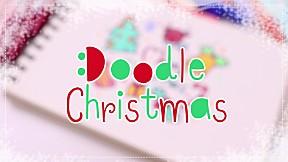 How to : สอนวาดรูปตีมคริสต์มาสง่าย ๆ เอาไว้วาดบนการ์ดแทนใจเราค่า