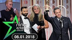 "NineEntertain 8 ม.ค. 61 : ""ผลรางวัลลูกโลกทองคำ 2018"""