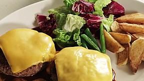 芝士漢堡扒 Cheese Hamburger Steak
