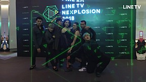 ภาพบรรยากาศงาน LINE TV NEXPLOSION 2018