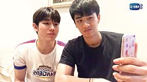 GMMTV LIVE | เต - นิว พูดถึงซีนต่อยและจูบ Kiss Me Again
