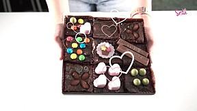 SistaCafe Cooking : สูตรสำหรับคนรักช็อกโกแลต \'เค้กบราวนี่\' หอมหวานนุ่ม