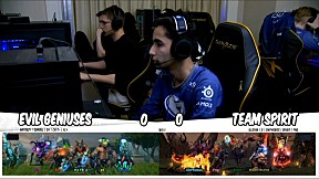 Evil Geniuses vs TEAM SPIRIT l รอบ Main Event DOTA2 China Supermajor