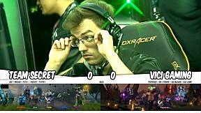 Team Secret vs VICI GAMING l รอบ Main Event DOTA2 China Supermajor