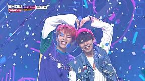 Show Champion EP.274 WOO JIN YOUNG , KIM HYUN SOO - Falling in love