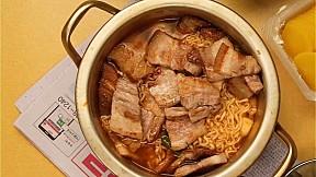 宵夜必食之五花肉mt拉麵 Late Night Pork Belly Ramyun