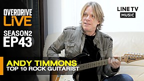 OverdriveLive   Season 2   EP43   Andy Timmons - Top 10 Rock Guitarist (Part2\/2)