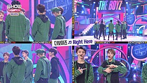 [Showchampion behind EP.108] THE BOYZ\'s \'Right Here\' Multicam