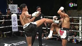 Thai Fight สระบุรี   ราชสิงห์ ร.ร.กีฬาโคราช VS Saw Htoo Zaw