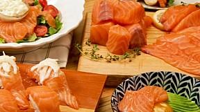三文魚大餐