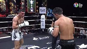 Thai Fight นครราชสีมา   สะท้านฟ้า ศิษย์นายกชายสงขลา VS Bobur Tagaev