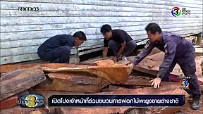 เปิดโปงเจ้าหน้าที่ร่วมขบวนการฟอกไม้พะยูงขายต่างชาติ | ข่าว 3 มิติ | 08-01-62 | Ch3Thailand